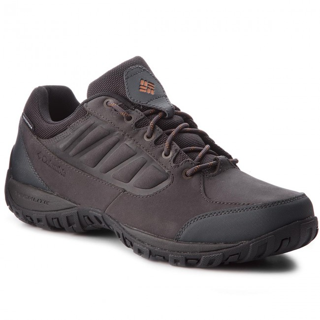 Trekkingschuhe BM5522 COLUMBIA-Ruckel Ridge Plus Waterproof BM5522 Trekkingschuhe Shark/Bright Copper 011 529756