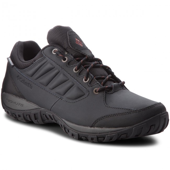 Trekkingschuhe COLUMBIA-Ruckel Ridge BM5525 Waterproof BM5525 Ridge schwarz/Rusty 010 97ad6c