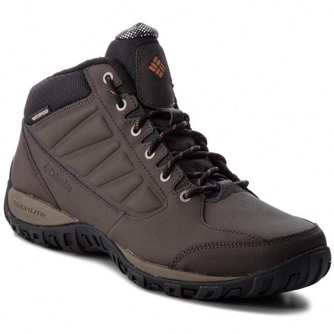 Trekkingschuhe COLUMBIA-Ruckel Ridge Chukka Copper WP Omni-Heat BM5524 Cordovan/Bright Copper Chukka 231 2153c7