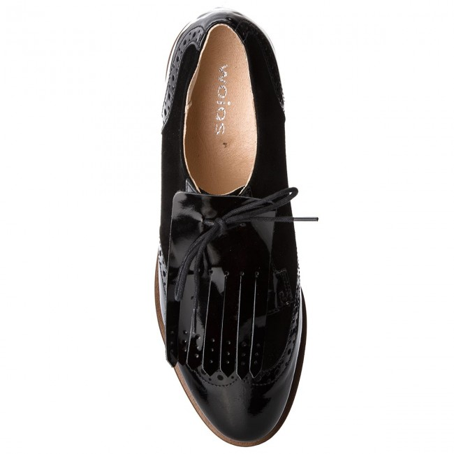 Oxfords WOJAS                                                      8548-71 Schwarz 6fec33