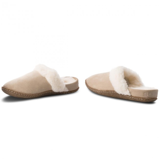 Hausschuhe SOREL                                                      Nakiska Slide II NL3082 British Tan/Natural e998b6