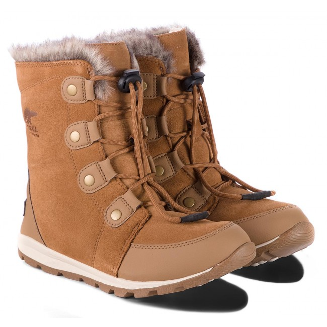 Schneeschuhe SOREL                                                      Youth Whitney Suede NY2329 Elk/Natural 286 bf1908