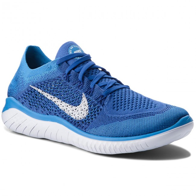 Schuhe NIKE-Free Rn Flyknit Royal/Weiß/Photo 2018 942838 401 Game Royal/Weiß/Photo Flyknit Blau 4dbc05