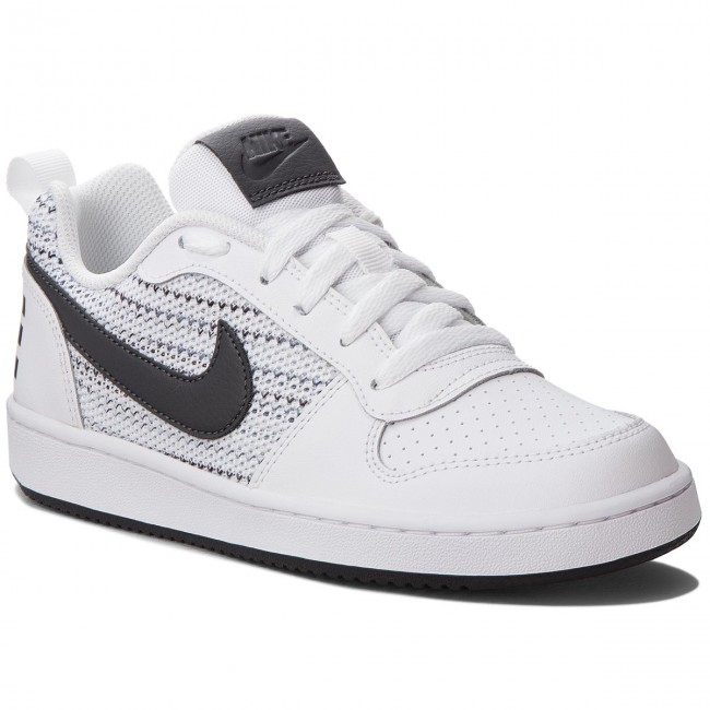 Schuhe NIKE                                                    Court Borough Low Se (GS) AA2902 100 White/Anthracite/Cool Grey
