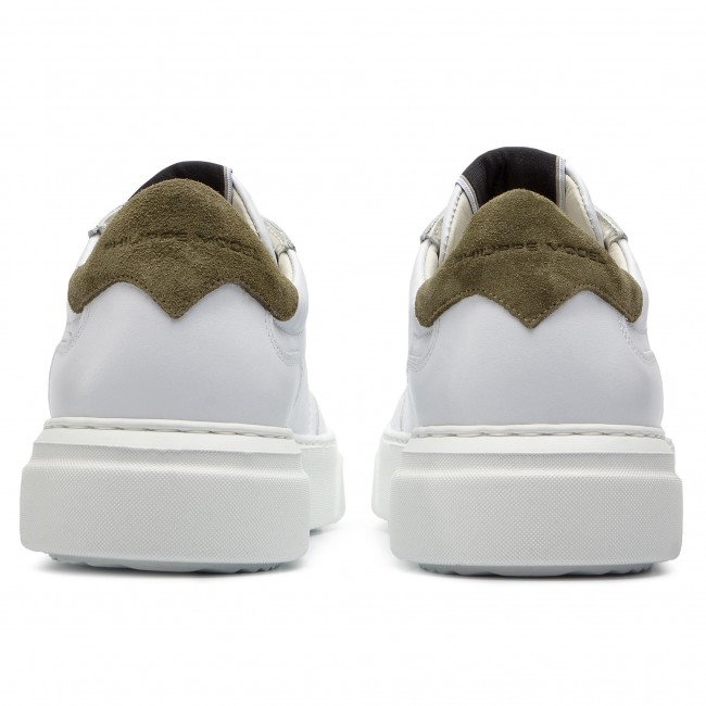 Sneakers PHILIPPE MODEL-Temple MODEL-Temple MODEL-Temple BALU V024 Blanc Militaire 01d624