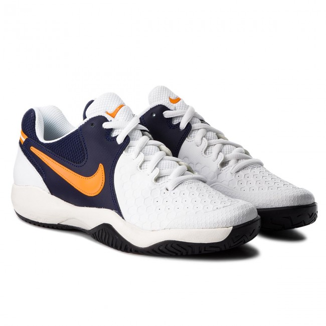 Schuhe NIKE-Air Zoom Resistance 918194 Peel 180 Weiß/Orange Peel 918194 5c7ea4