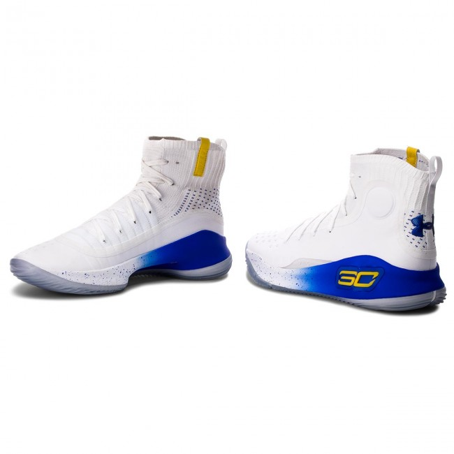 Schuhe UNDER Curry ARMOUR-Ua Curry UNDER 4 1298306-100 Wht 415244