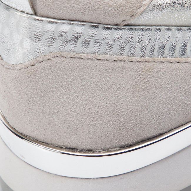 Damenschuhe Damenschuhe Damenschuhe Halbschuhe Turnschuhe CAPRICE - 9-23600-22 Silber Comb 943 60fd25