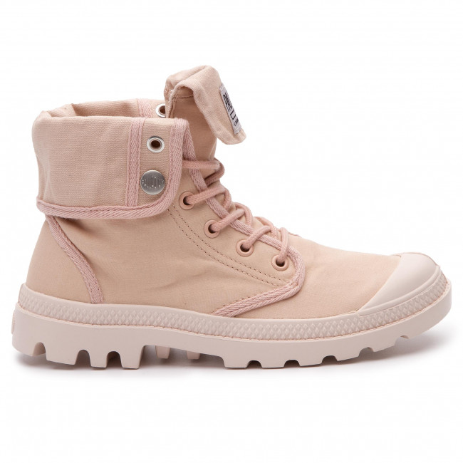Damenschuhe Stiefel und andere Trekkingschuhe Trapperschuhe PALLADIUM - Baggy Army Camp Trng Camp Army 75492-669-M Rosa Dust Whisper Rosa 677493