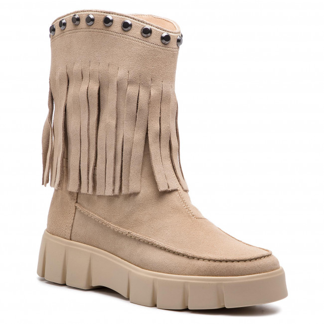 Damenschuhe Stiefel und andere Stiefel Stiefeletten GEOX - D Ghoula D92BVB D92BVB Ghoula 00022 C6738 Lt Taupe f4760d