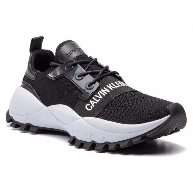 84ed06a6fb Sneakers CALVIN KLEIN JEANS - Timmy S0588 Black - Sneakers ...
