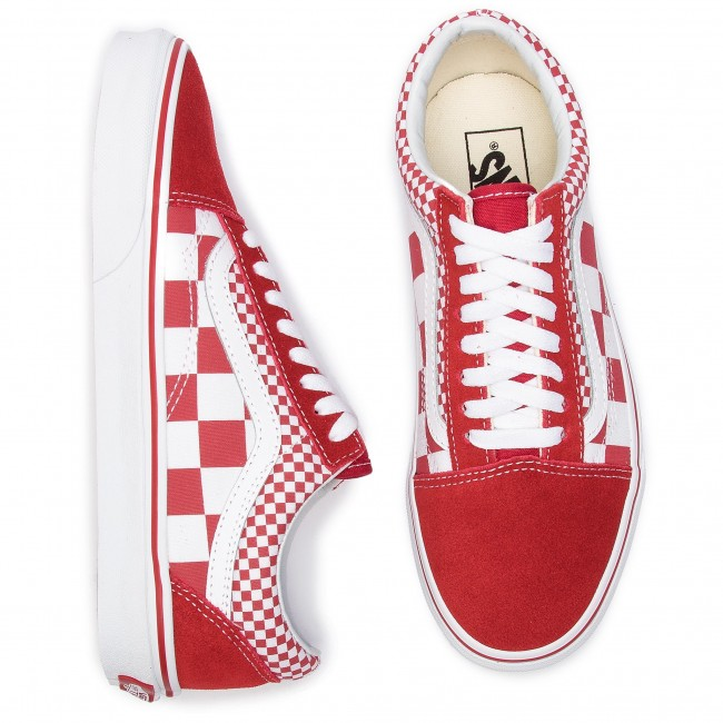 Turnschuhe VANS Old Skool VN0A38G1VK51 (Mix Checker) Chili Peppe