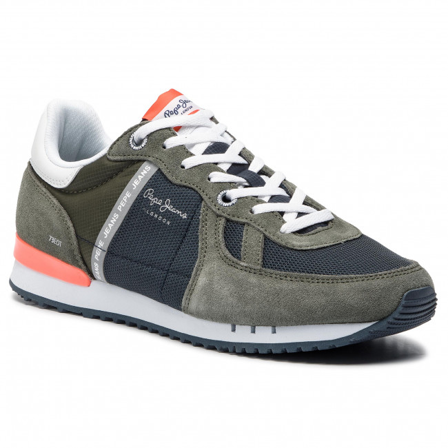 af95fb15be51d2 Sneakers PEPE JEANS - Tinker Zero Seal PMS30508 Khaki Green 765 ...
