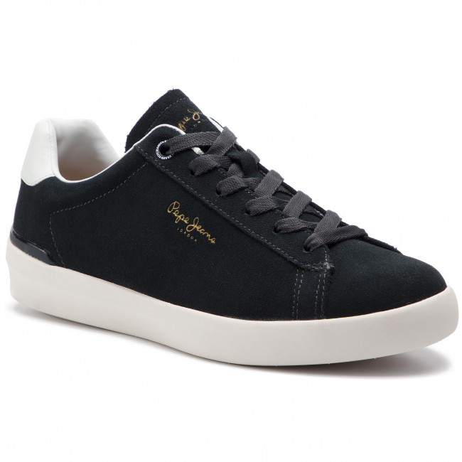 Halbschuhe Turnschuhe PEPE JEANS - - - Roland Suede PMS30524 Anthracite 982 aebc47