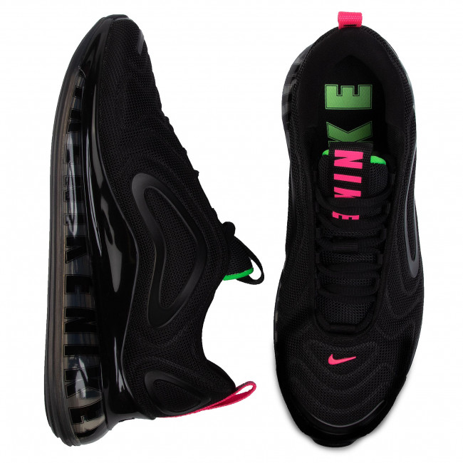 Schuhe NIKE Air Max 720 CQ4614 001 BlackScream GreenHyper Pink