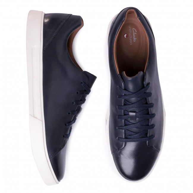 Sneakers CLARKS Un Costa Lace 261485577 Navy Leather