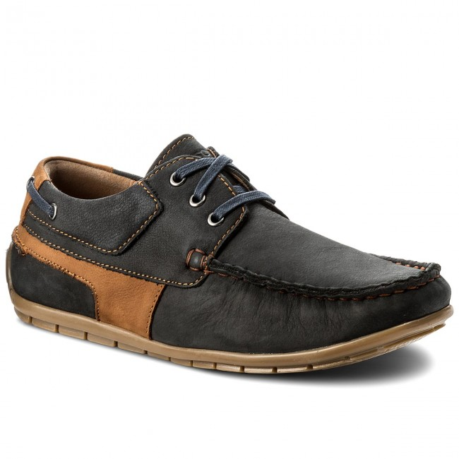 Mokassins LASOCKI FOR MEN-MB-JURA2-01 Dunkelblau