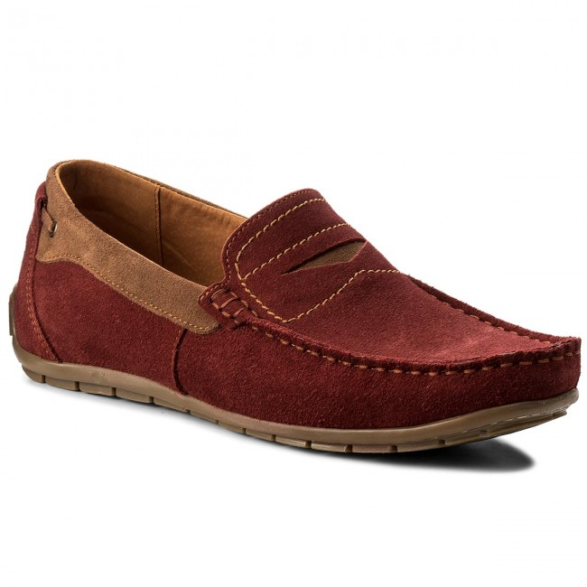 Mokassins LASOCKI FOR MEN-NE-235 Dunkelrot