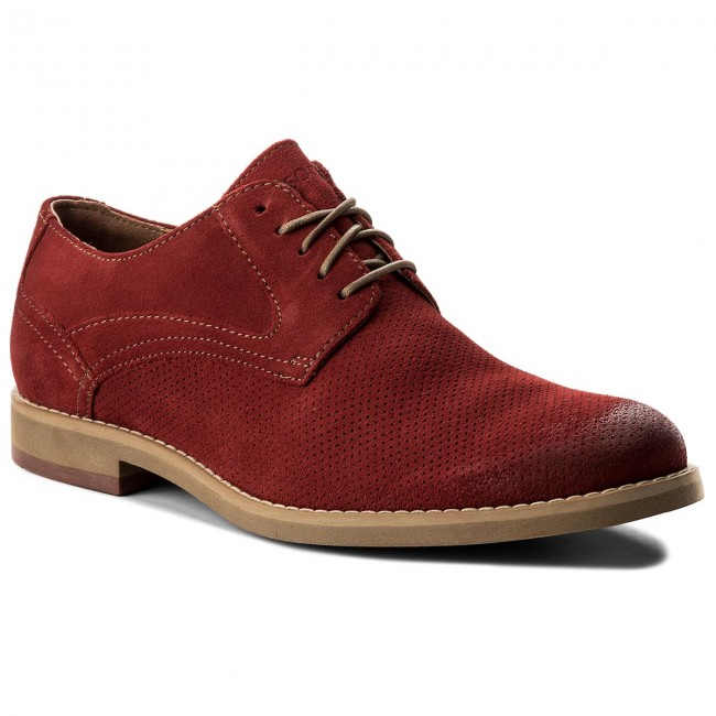 Halbschuhe LASOCKI FOR MEN-MB-NEVER-03 Rot