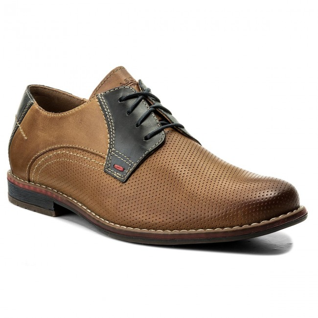 Halbschuhe LASOCKI FOR MEN-MB-LITWA-01 Braun