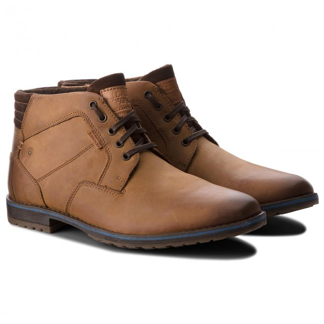 Schnürschuhe LASOCKI FOR MEN-MB-BOR-01BIG Dk Brown