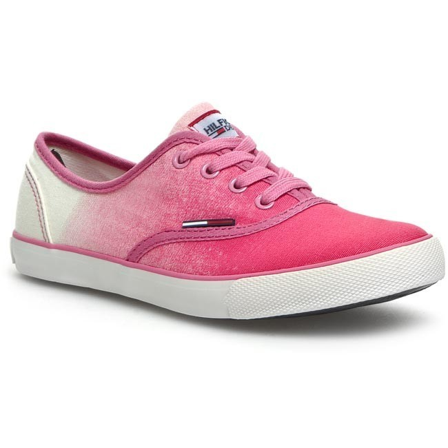 3061efce09e85c Turnschuhe TOMMY HILFIGER - DENIM - Hilton 2d EN56817108 Shocking Pink 679