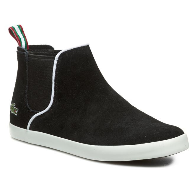 54ee11454636 Schuhe LACOSTE - Ziane Chelsea Crt Spw 7-28SPW101702H Black Suede ...