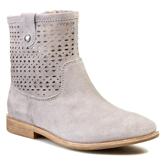 03b497ae65e08e Stiefeletten GEOX - D Elixir C D52C7C 00022 C1006 Grau - Boots ...