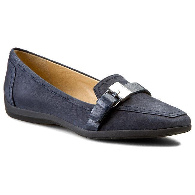 e3f8517b9f1c51 Lords Schuhe GEOX - D Kalinda A D44M5A 0SE43 C4002 Navy - Lords ...