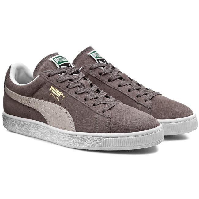 Sneakers PUMA-Suede Classic + 352634 66 Steeple Gray/White
