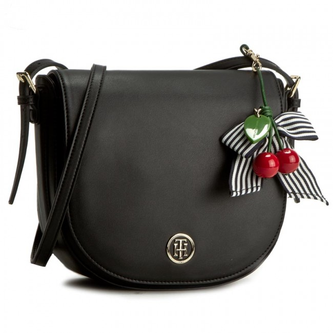 69063696b0d78 Tasche TOMMY HILFIGER - Cherry Saddle Bag AW0AW03820 901 ...