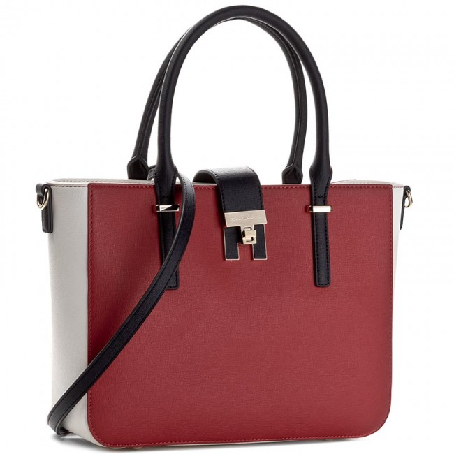 Tasche TOMMY HILFIGER - Th Heritage Tote Cb AW0AW04093 901 ... aba6be43164
