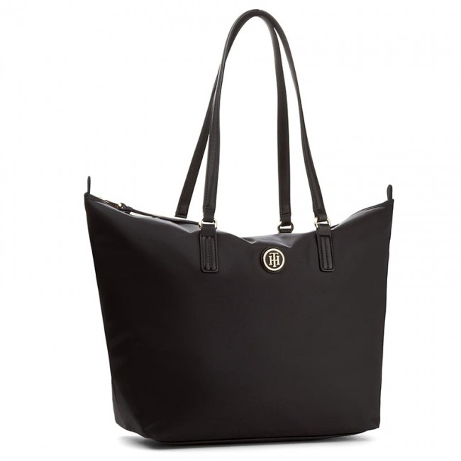 b5f2e4c2bf728 Tasche TOMMY HILFIGER - Poppy Tote AW0AW04302 002 - Shopping Bags ...
