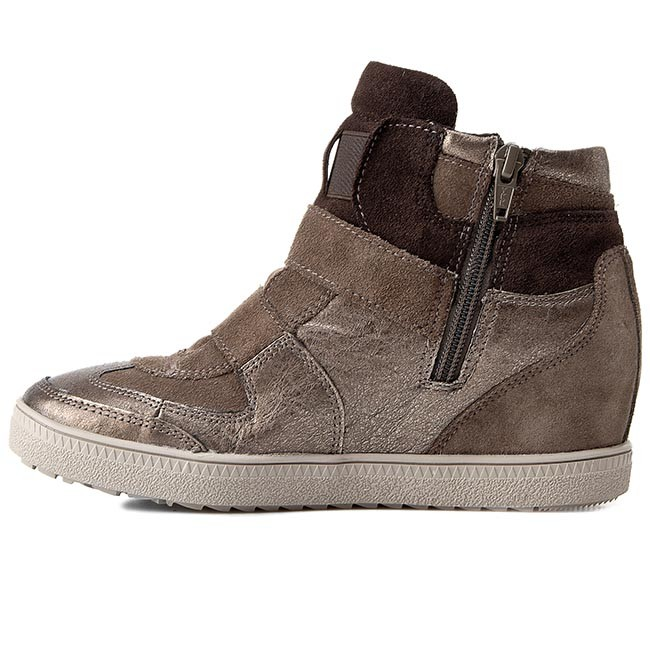Sneakers GEOX D Amaranth Dove H. B D52S9B 022AL C1B9H Dove Amaranth Grey/Lead 1a9dad