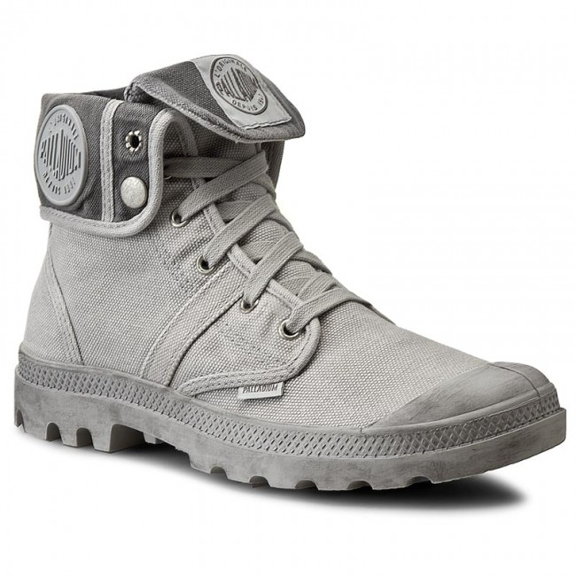 Trapperschuhe PALLADIUM-Pallabrouse Baggy 02478-095-M Vapor/Metal