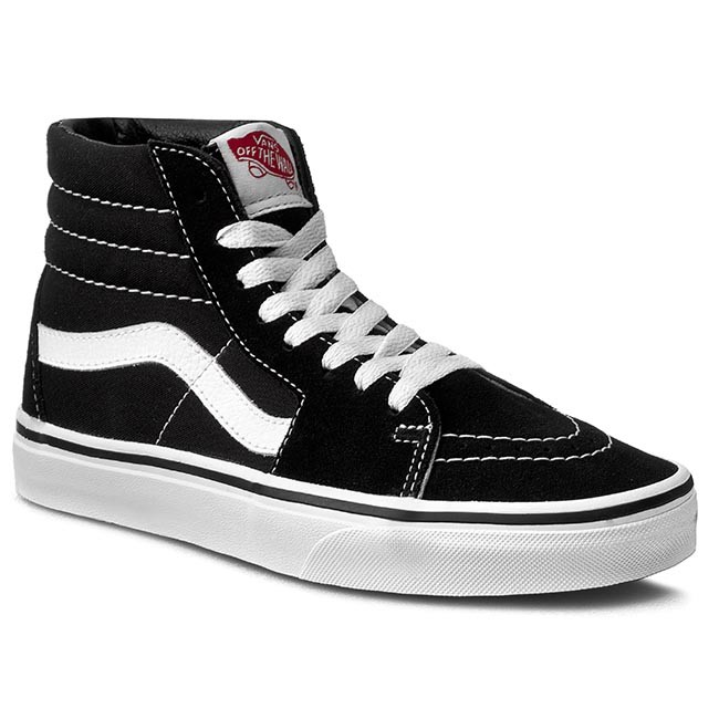 vans sk8 black and white