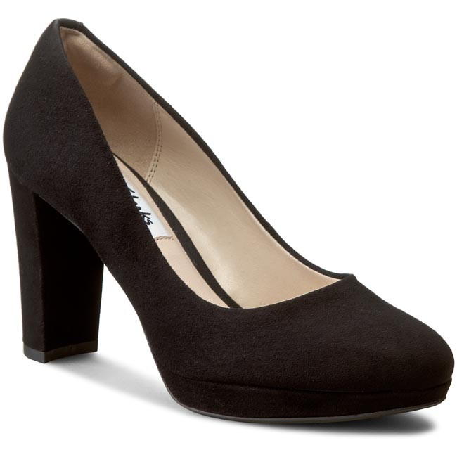 Shoes CLARKS Kendra Sienna 261227934 Nude Patent