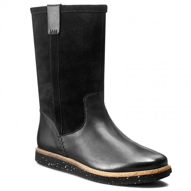 timeless design biggest discount reputable site Stiefel CLARKS - Glick Elmfield 261200014 Black Combi