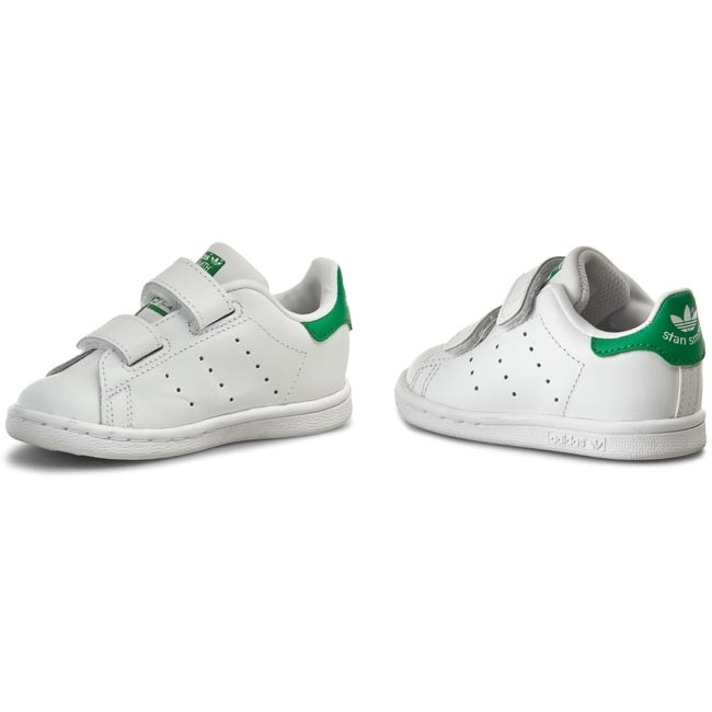 schuhe adidas stan smith cf i m20609 ftwwht ftwwht green. Black Bedroom Furniture Sets. Home Design Ideas