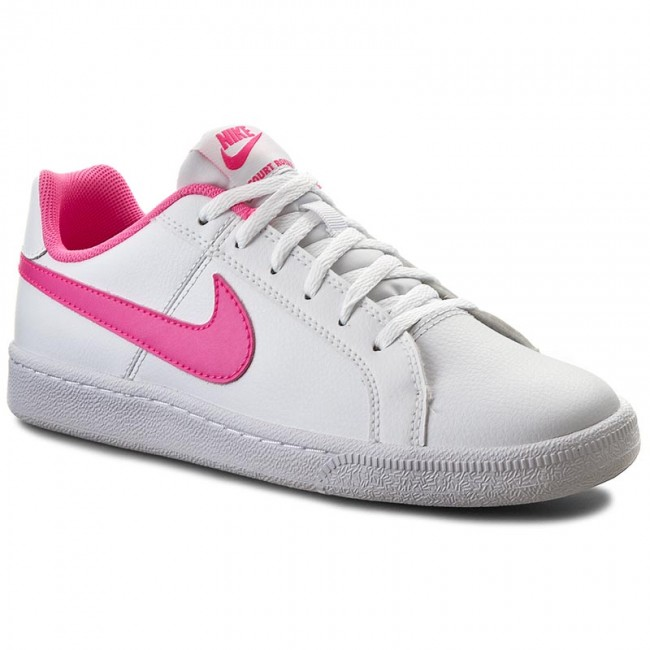 schuhe nike court royale gs 833654 106 white pink. Black Bedroom Furniture Sets. Home Design Ideas