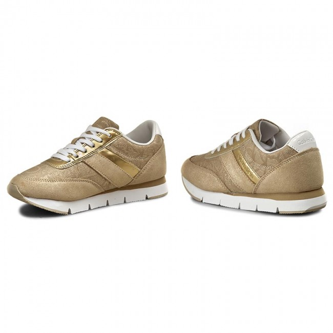 competitive price 08160 a1a48 Sneakers CALVIN KLEIN JEANS - Tea 9644 Gold/Gold