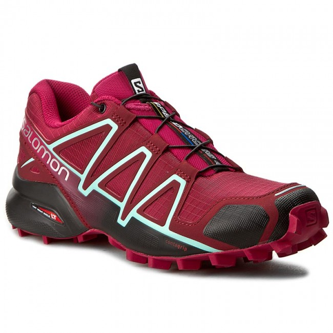 Schuhe SALOMON Speedcross 4 W 393439 Tibetan RedSangriaBlack