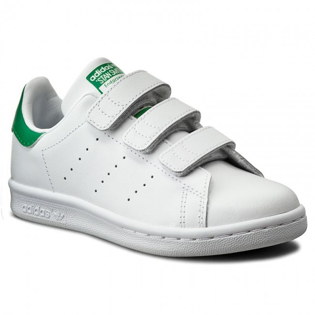 save off a0c55 d559f Schuhe adidas - Stan Smith Cf C M20607 Ftwwht/Ftwwht/Green