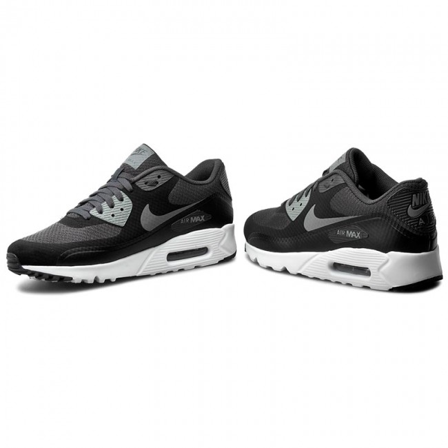 Schuhe NIKE Air Max 90 Ultra Essential 819474 003 BlackCool GreyAnthraciteWht