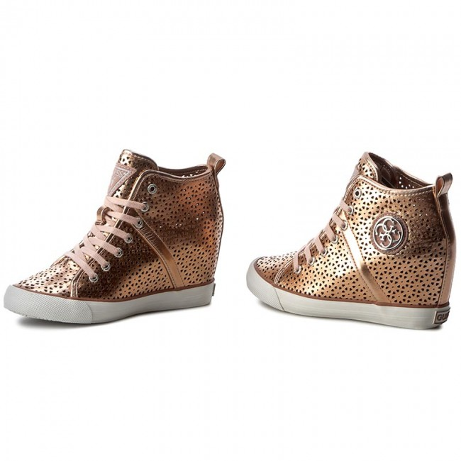 Sneakers GUESS Jillie FLJIL1 ELE12 GOLD
