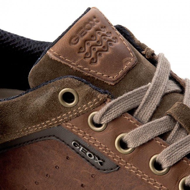 Sneakers GEOX U Box C U72R3C 0FF22 C0235 BrowncottoBrown