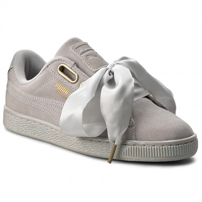 best website b88c1 a5fe2 Sneakers PUMA - Suede Heart Satin Wn's 362714 02 Gray Violet/Gray Violet