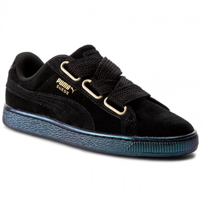 Sneakers PUMA Suede Heart Satin Wn's 362714 03 Puma BlackPuma Black