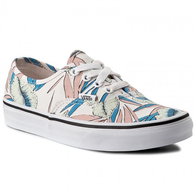 Turnschuhe VANS Authentic VN0A38EMMQN (Tropical Leaves) True White