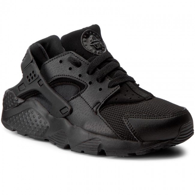 check out aaacc 10d15 Schuhe NIKE - Huarache Run (GS) 654275 016 Black/Black/Black